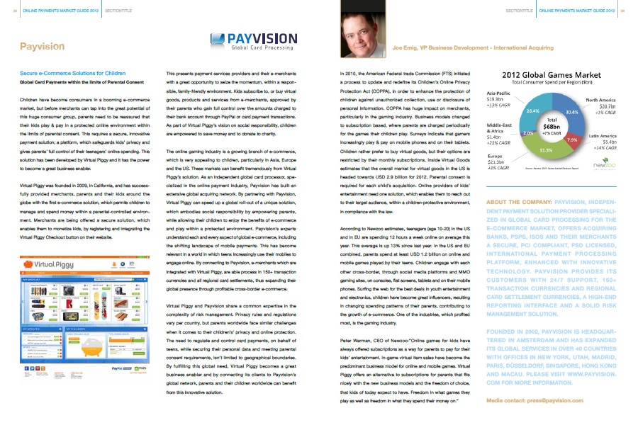 Case Study, verschenen in Online Payments Market Guide