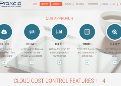 B2B Content for Website ProXcio Cloud Cost Control (C3)
