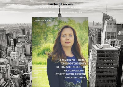 Femtech interview with Compliance expert Nadja van der Veer