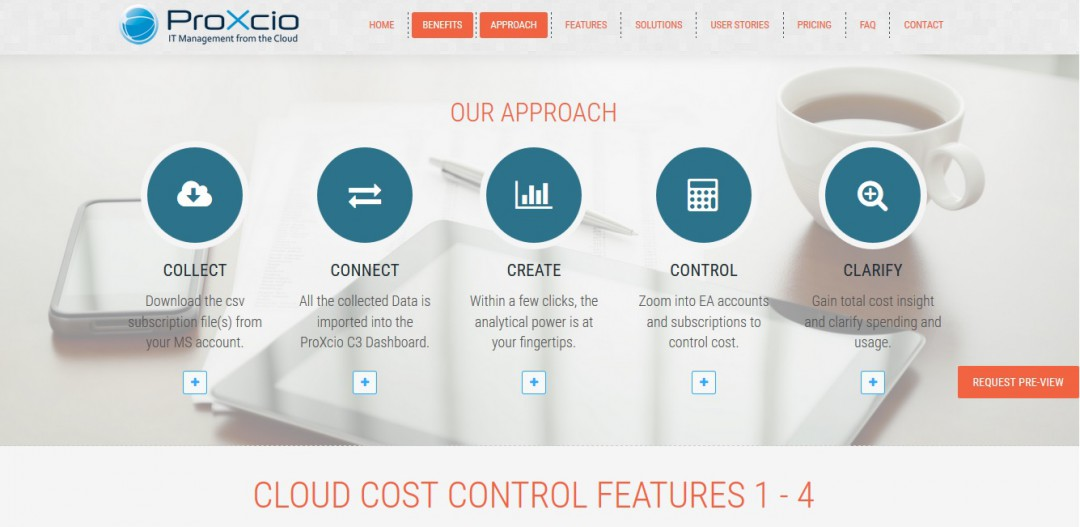 Web Content ProXcio Corporate Website