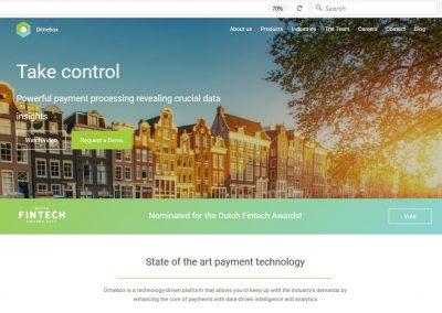Dimebox Corporate Website